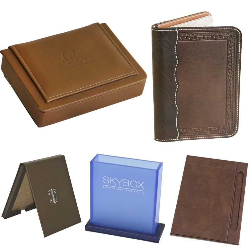 Note Boxes and Pad Holders