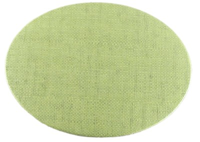 grass cloth-oval-placemat