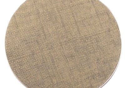 grass cloth-round-placemat