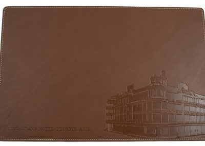 Brown embossed Bulding 01 wr