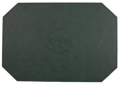 Green embossed Map 01 wr